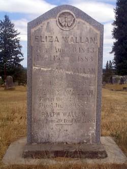 Eliza Jane <I>Shadden</I> Wallan