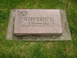 Mary Sarah <I>Franklin</I> Blick