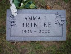 Amma L <I>O'Neal</I> Brinlee