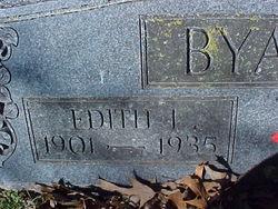 Edith <I>Lindsey</I> Byars