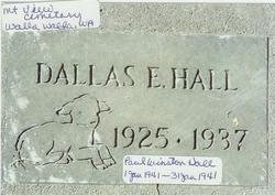 Dallas Eugene Hall