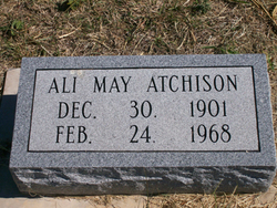"Allie May ""Ali"" <I>Fox</I> Atchison"