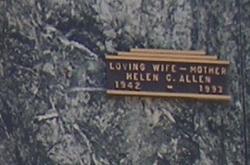 Helen Charlene <I>Rice</I> Allen