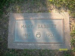 Mary <I>Peterson</I> Babbitt
