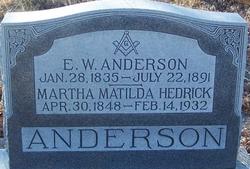 E. W. Anderson