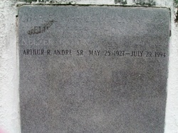 Arthur R Andre, Sr