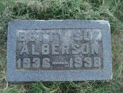 """Elizabeth Sue """"Betty"""" Alberson"""