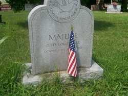 Betty Lou <I>Tucker</I> Majure