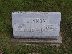 Alice L <I>Dewey</I> Lennon