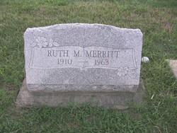 Ruth M. <I>King</I> Merritt