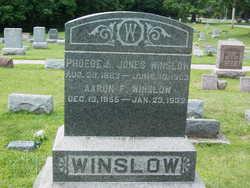 Phoebe Lucinda <I>Jones</I> Winslow