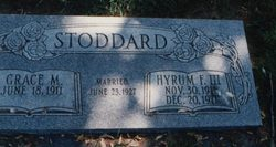 Hyrum Franklin Stoddard, III