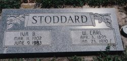 PFC Wilford Earl Stoddard