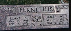James William Fernelius