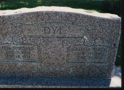 Jonathan Samuel Dye