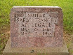 Sarah Frances <I>Horner</I> Applegate