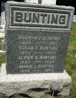 Susan Flock <I>Hutchinson</I> Bunting