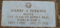 Harry Stanley Perkins, Sr