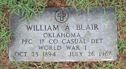 PFC William Adam Blair