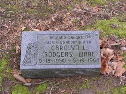 Carolyn Lou <I>Rodgers</I> Ware