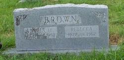 Altha Rebecca <I>Lunsford</I> Brown