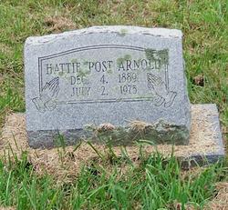 Hattie <I>Post</I> Arnold