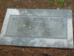 Mildred <I>Boney</I> Waters