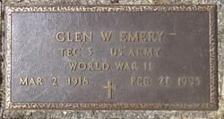 Glen W. Emery