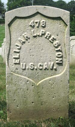 Pvt Elijah L. Preston