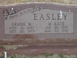 """Melissa Katheryn """"Kate"""" <I>Luker</I> Easley"""