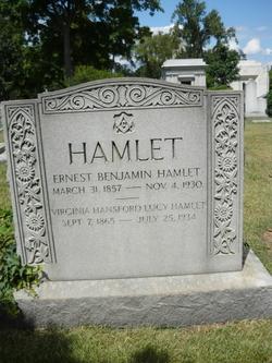 Virginia Hansford <I>Lucy</I> Hamlet