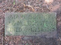 Infant Son Luckstead