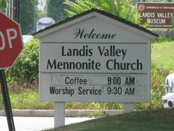 Landis Valley Mennonite Cemetery