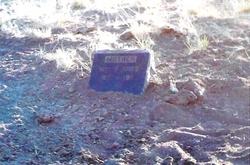 May Jones Burial Site