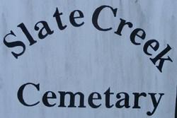 Slate Creek Cemetery