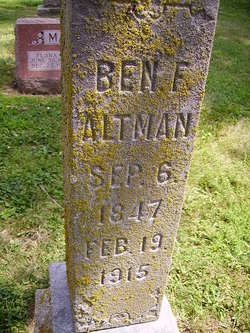 Benjamin Franklin Altman