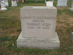 Annie Thornton <I>Macomber</I> Akin