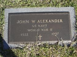 "John Wesley ""J.W."" Alexander"
