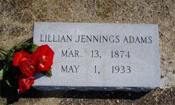 Lillian <I>Jennings</I> Adams