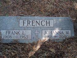 Johanna Mary <I>Gross</I> French