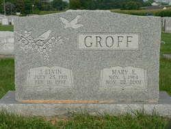 Mary E <I>Ranck</I> Groff