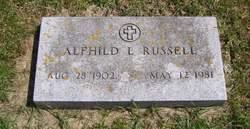 Alfhild L. Johanna <I>Kvam</I> Russell