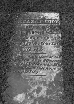 Rev Eleazar Cole, III