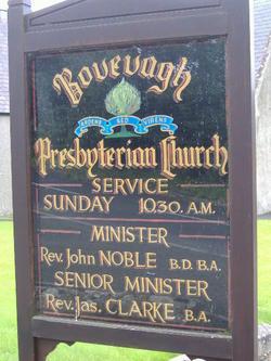 Bovevagh Presbyterian Churchyard