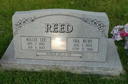 Ina Ruby <I>Meador</I> Reed