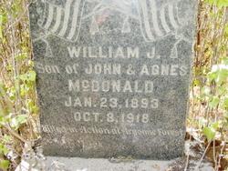 William James McDonald