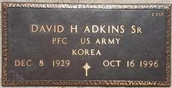David Hiram Isom Adkins, Sr