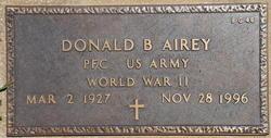 Donald B Airey