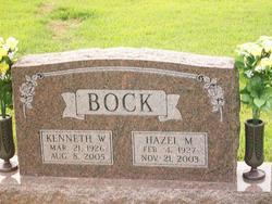 Hazel Mae <I>Grant</I> Bock
