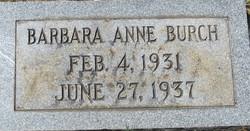 Barbara Anne Burch